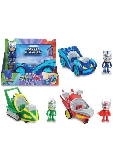 Aylin & Aslı Beachwear Pija Maskeliler Speed Booster Araçlar PJM60300  Renkli